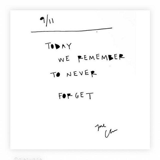 #neverforget #september11
