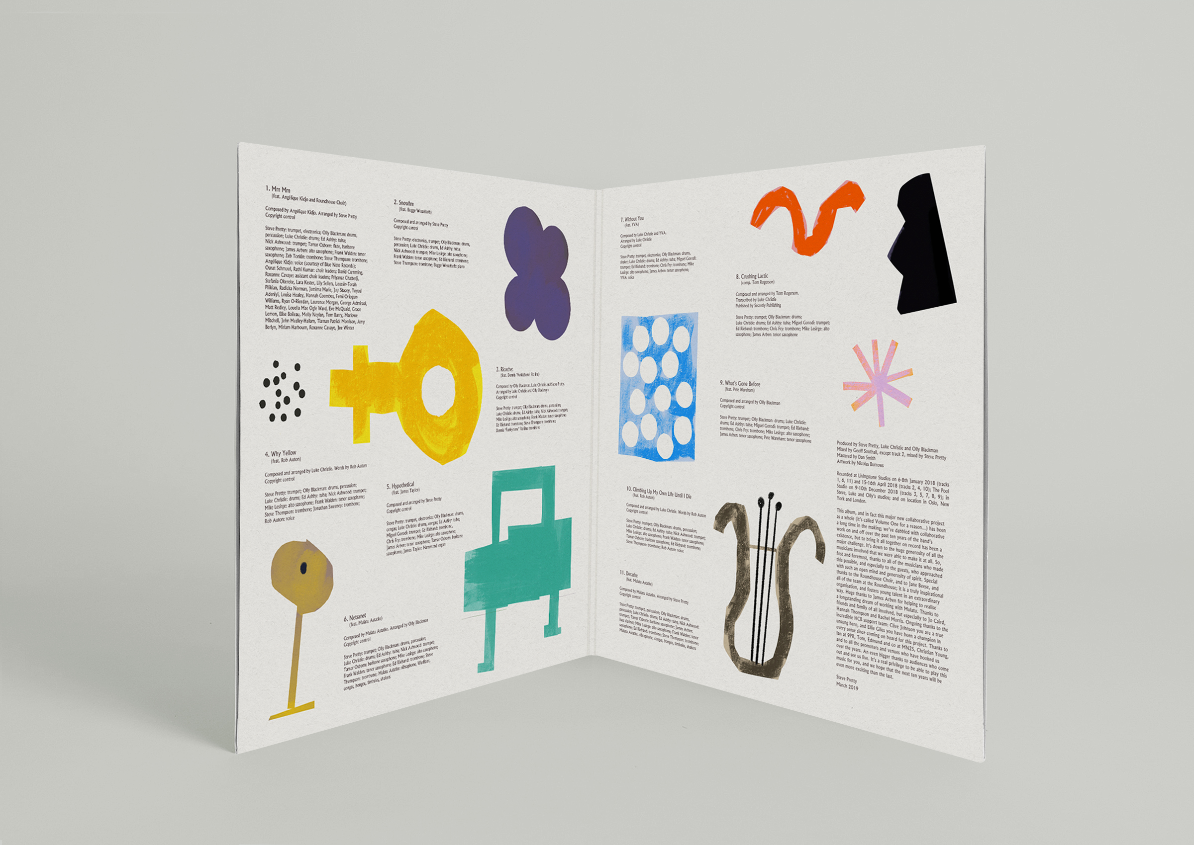 Release Artwork / Sleeve Design