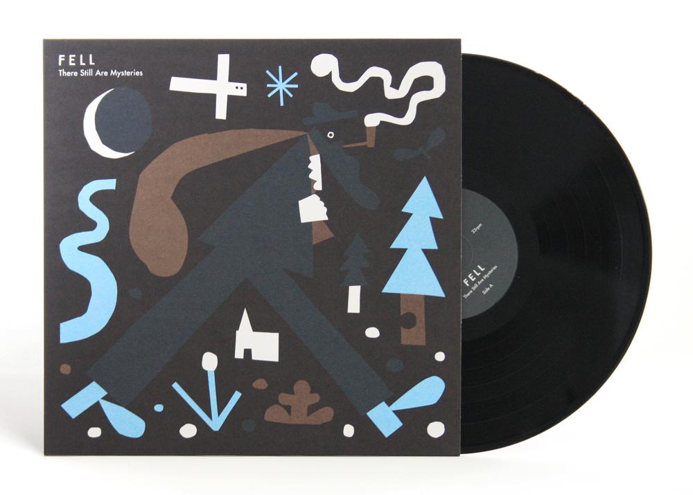 Vinyl LP sleeve design