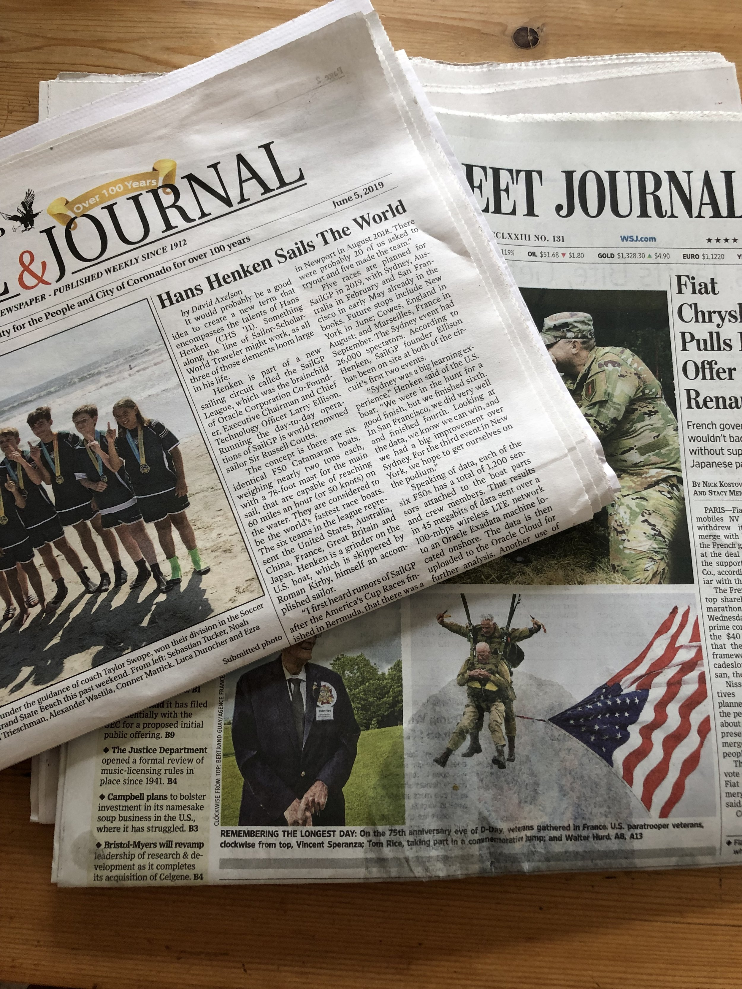 You can find these newspapers online.