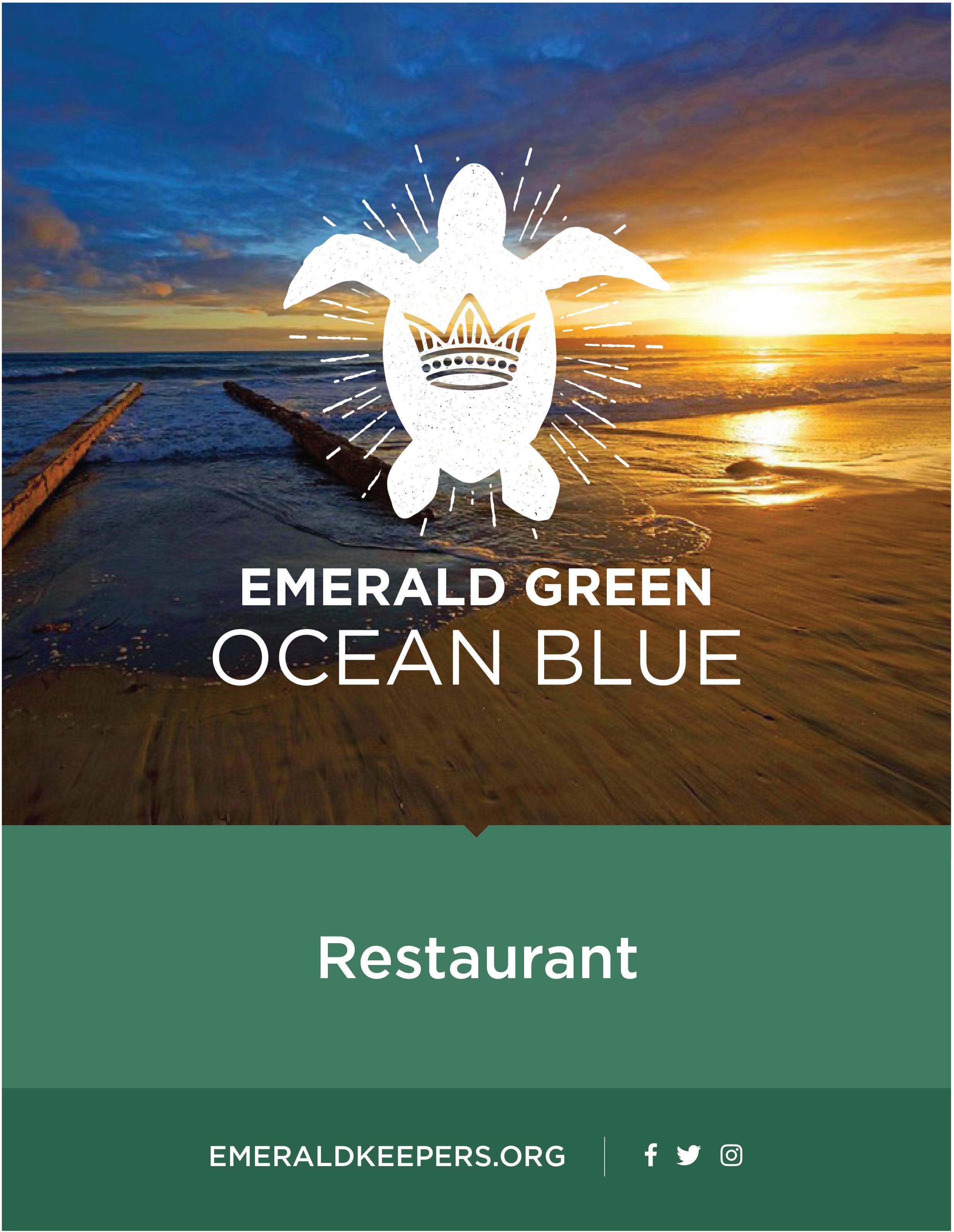 Coronado restaurant designation sign