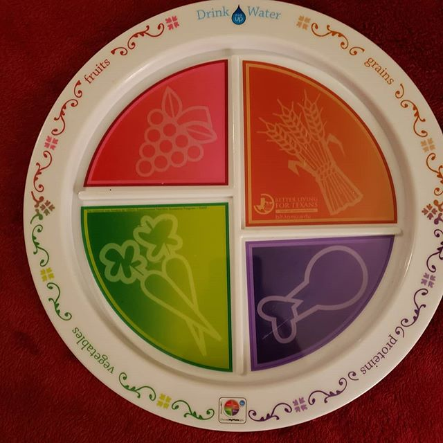 Learn to design a balanced, healthy plate from Tx A&M AgriLife Extension at #TheDallasVegFest this Sunday, 11am-4pm