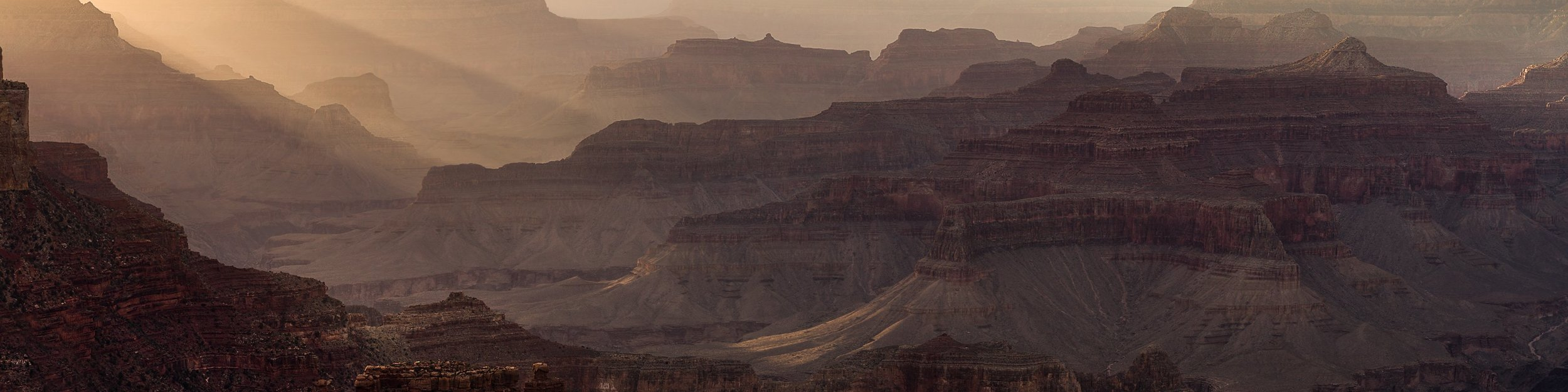 Grand Canyon at Sunset from Yavapai Point.
