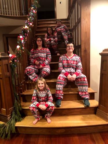 Nieces and Nephews in Christmas PJs.jpg