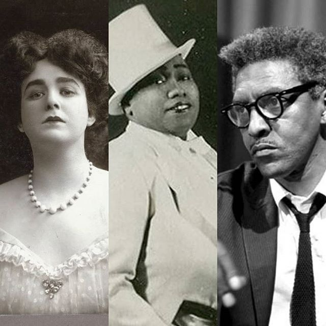 Today we commemorate the 50th Anniversary of the #Stonewall Rebellion. While it was certainly the catalyst for #gayrights in America, people often think that's where it started. Remember those who fought to be their truest selves before Stonewall, such as #JulianEltinge, #GladysBently, and #BayardRustin. . . #DontForgetWhoCameBeforeYou #IWontForget #thebattlemusical #gay #gaypride #lgbt #lgbthistory #queer #musicaltheatre #nyc #nycpride #worldpridenyc