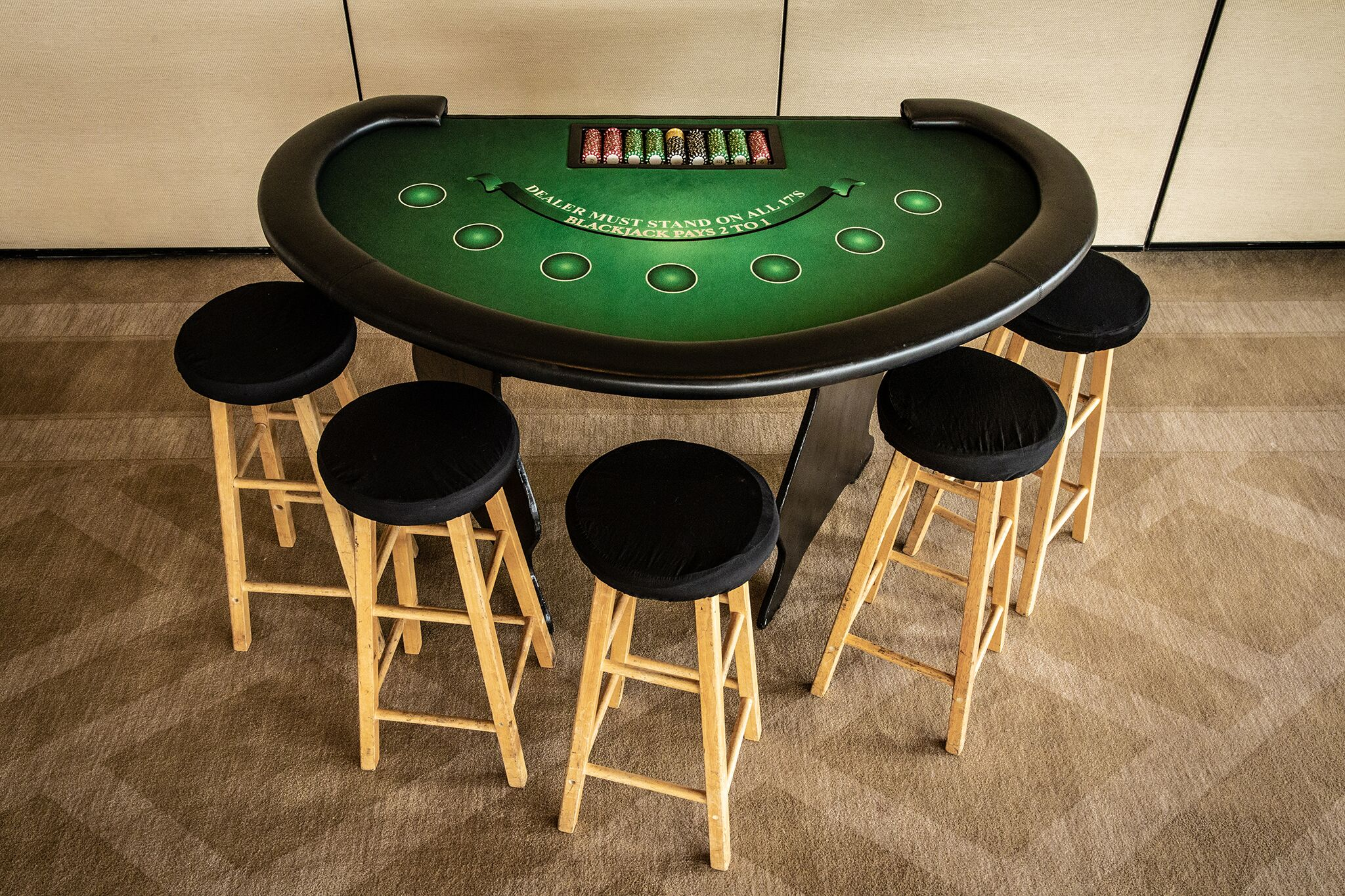 Blackjack Table w/ Stools