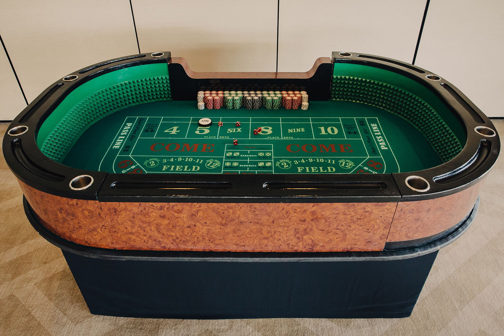 Mini Craps Table