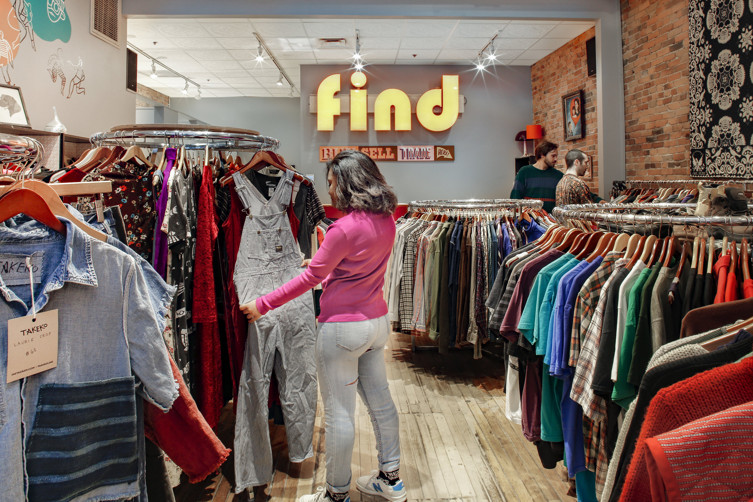 Find Clothing Ex -
