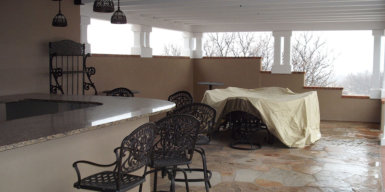 Outdoor Living Space Addition | Larkspur, CO