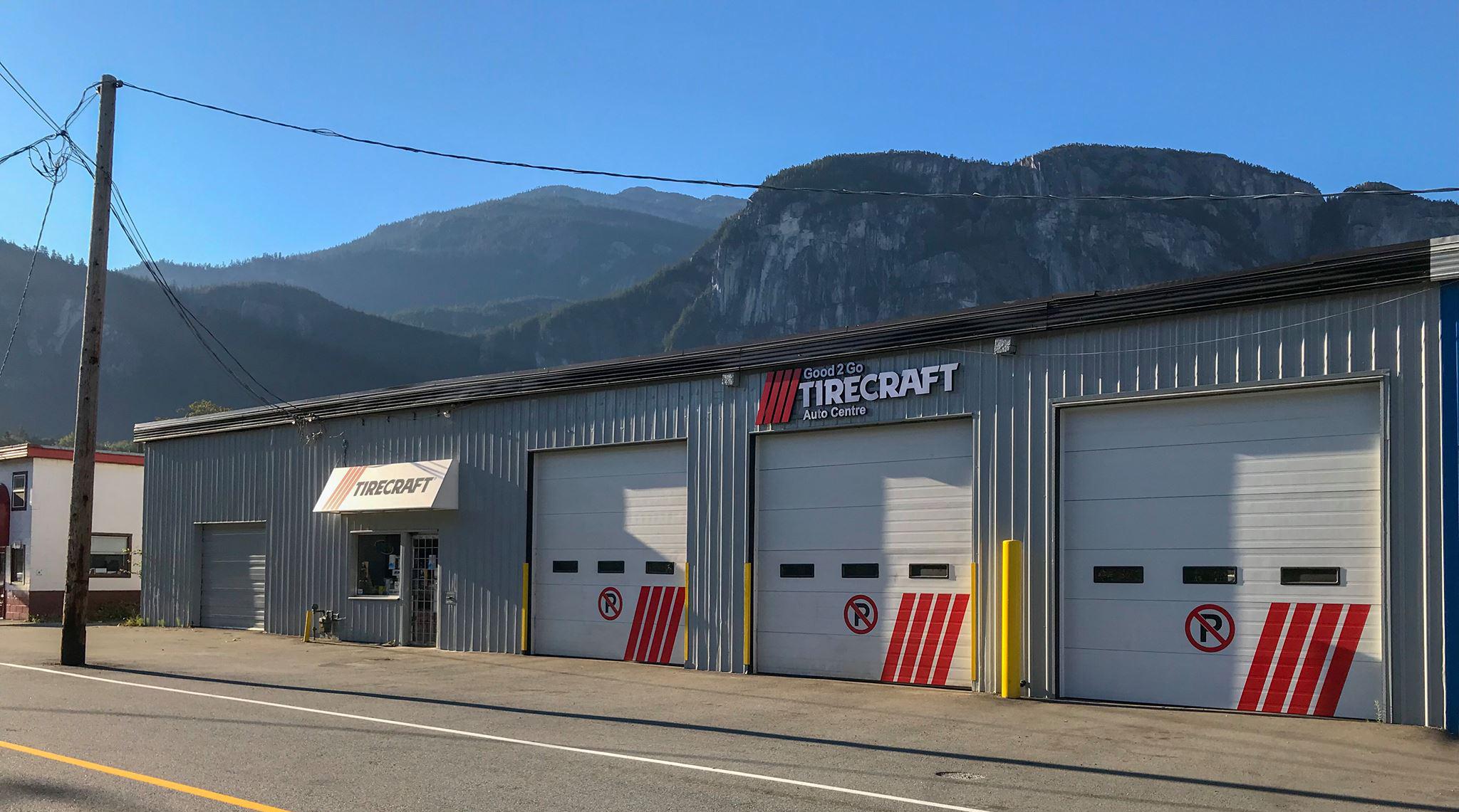 Good 2 Go Tirecraft Auto Centre in Squamish BC