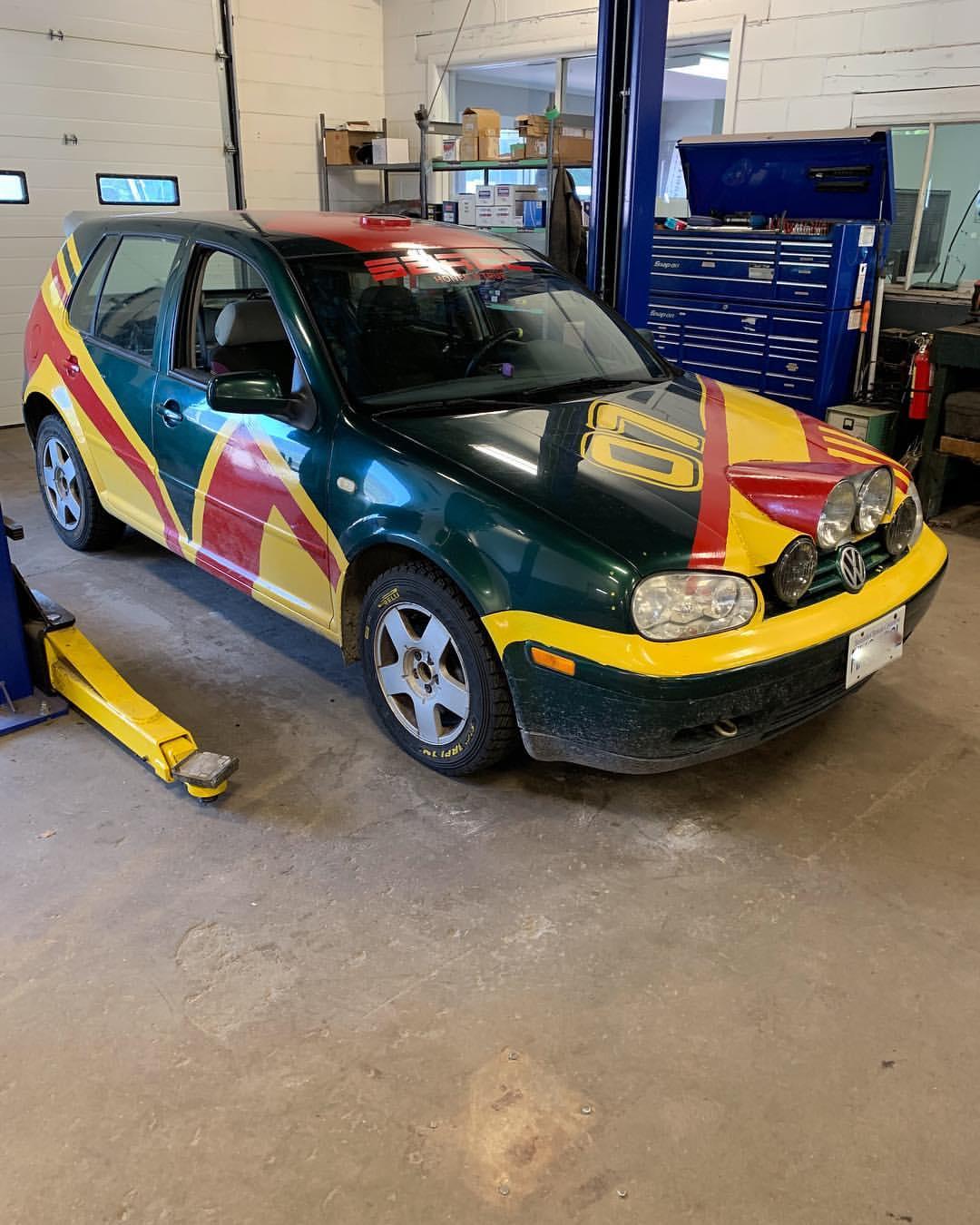 Rally Ready VW Golf - Good 2 Go Tirecraft Auto Centre