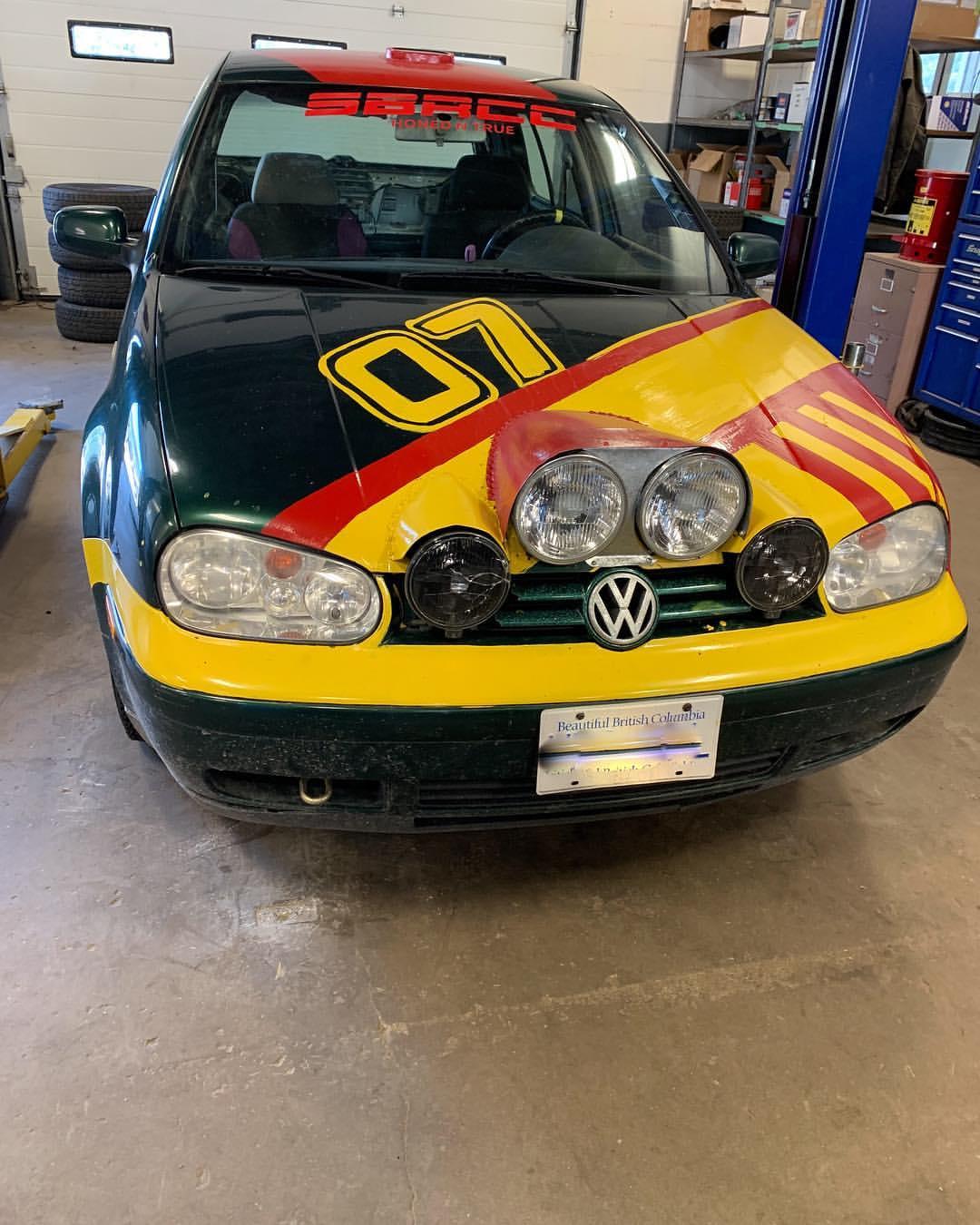 Rally Ready VW Golf Front - Good 2 Go Tirecraft Auto Centre