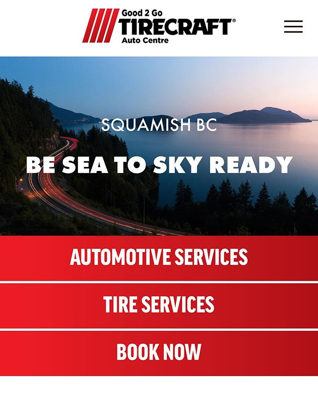 Did you know you can now book online to schedule your vehicle into our shop? How convenient right?! Book Online Now through our website! WWW.good2goauto.ca #squamishmechanic #squamish #britishcolumbia #tirecraft #good2gotirecraft