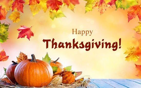 Happy Thanksgiving Weekend everyone!