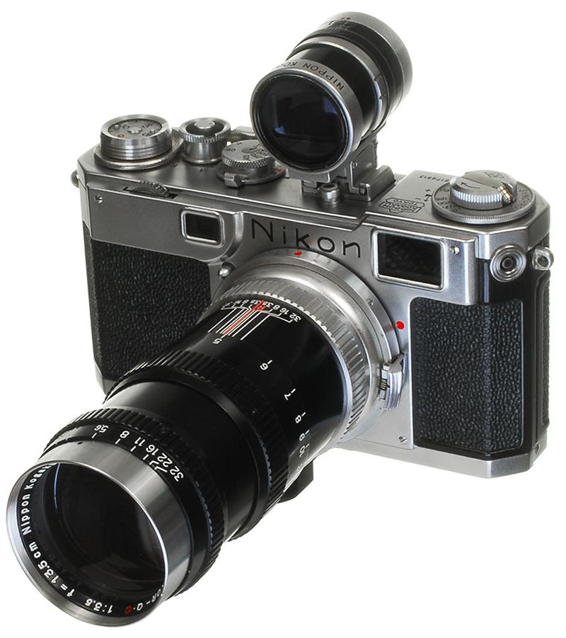 Nikon S2 135mm Lens and Varifocal Viewfinder - 800.jpg