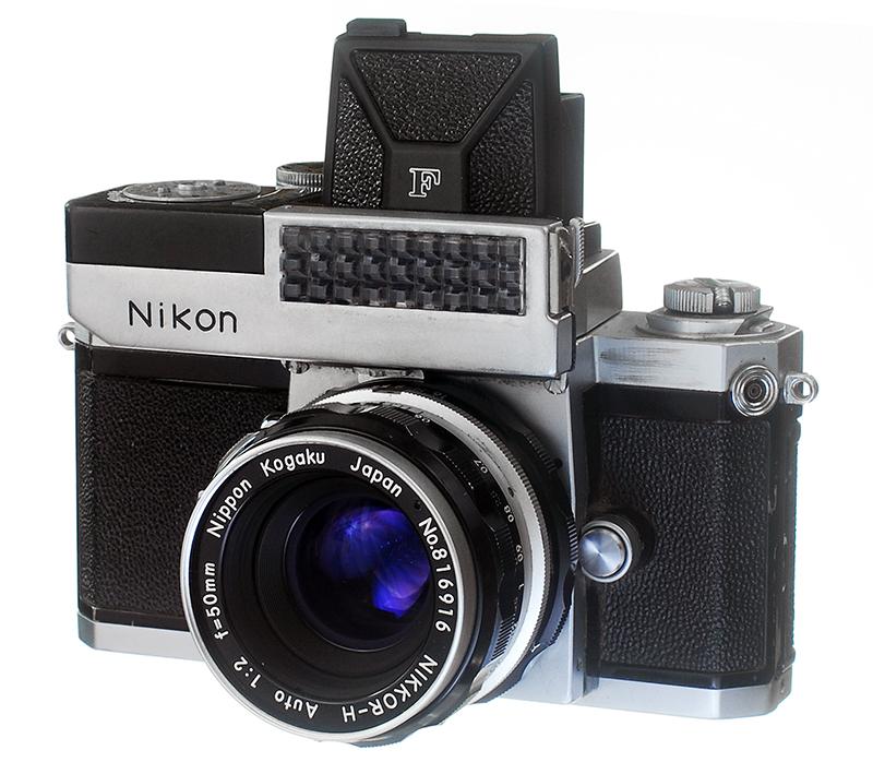 Nikon F with Waist High and Light Meter 800.jpg