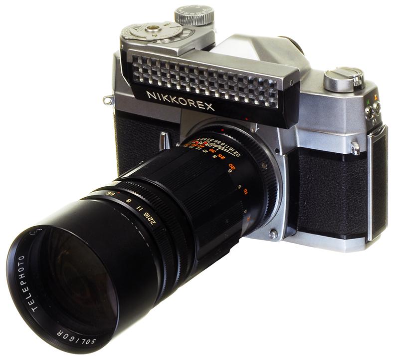 Nikkorex F with Soligor 180mm Telephoto Lens - 800.jpg
