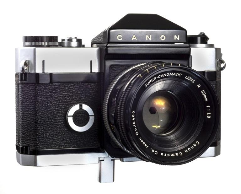 Canonflex – Super-Canomatic 50mm f/1.8 – Circa 1959