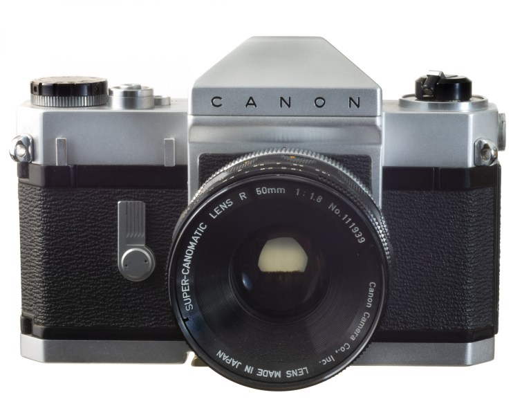Canonflex RP – Super-Canomatic 50mm f/1.8 – Circa 1960