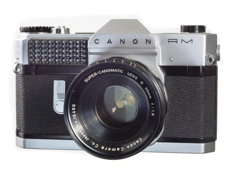 Canonflex RM – Super-Canomatic 50mm f/1.8 – Circa 1962