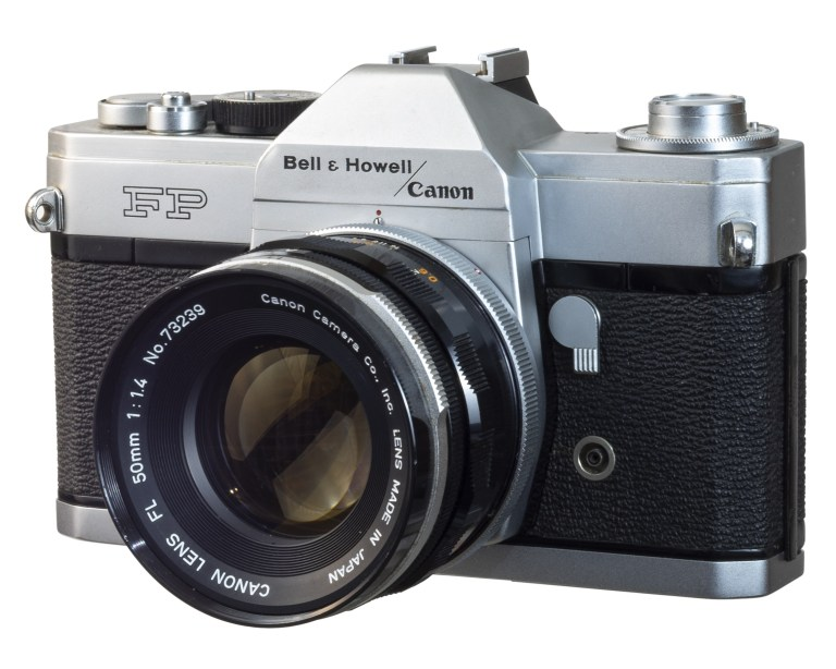 Bell & Howell / Canon FP – Canon FL 50mm f/1.4 –   Circa 1964