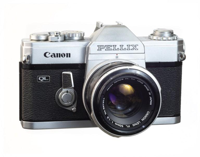 Canon Pellix – Canon FL 50mm f/1.8 – Circa 1965