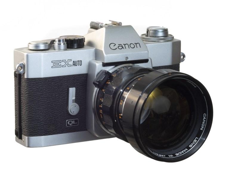 Canon EX Auto – EX 95mm f/3.5 lens  – Circa 1972