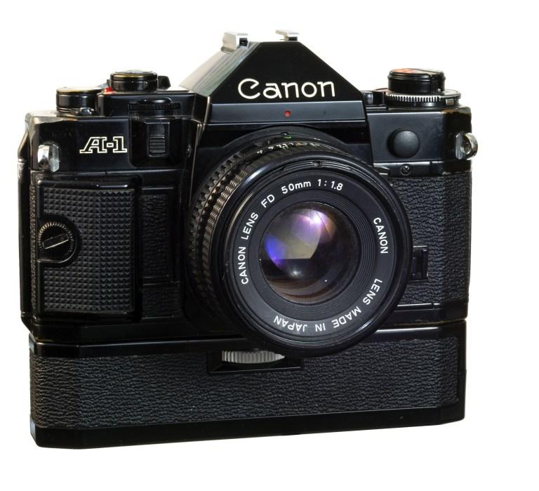 Canon A1 – Canon FD 50mm f/1.8 – Circa 1978