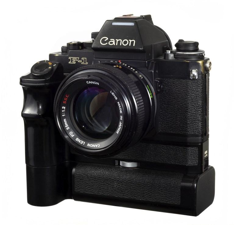 Canon New F-1 – Canon FD 55mm f/1.2 – Circa 1981