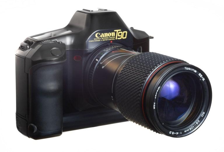 Canon T90 – Circa 1986