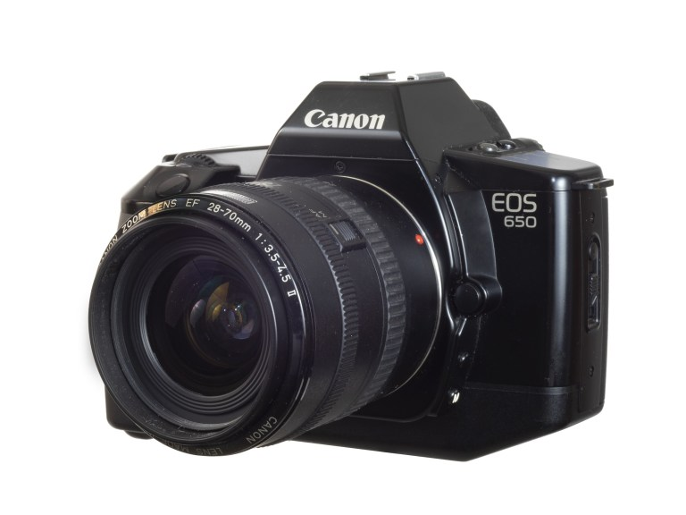Canon EOS 650 – Canon EF 28-70 Zoom Lens – Circa 1987