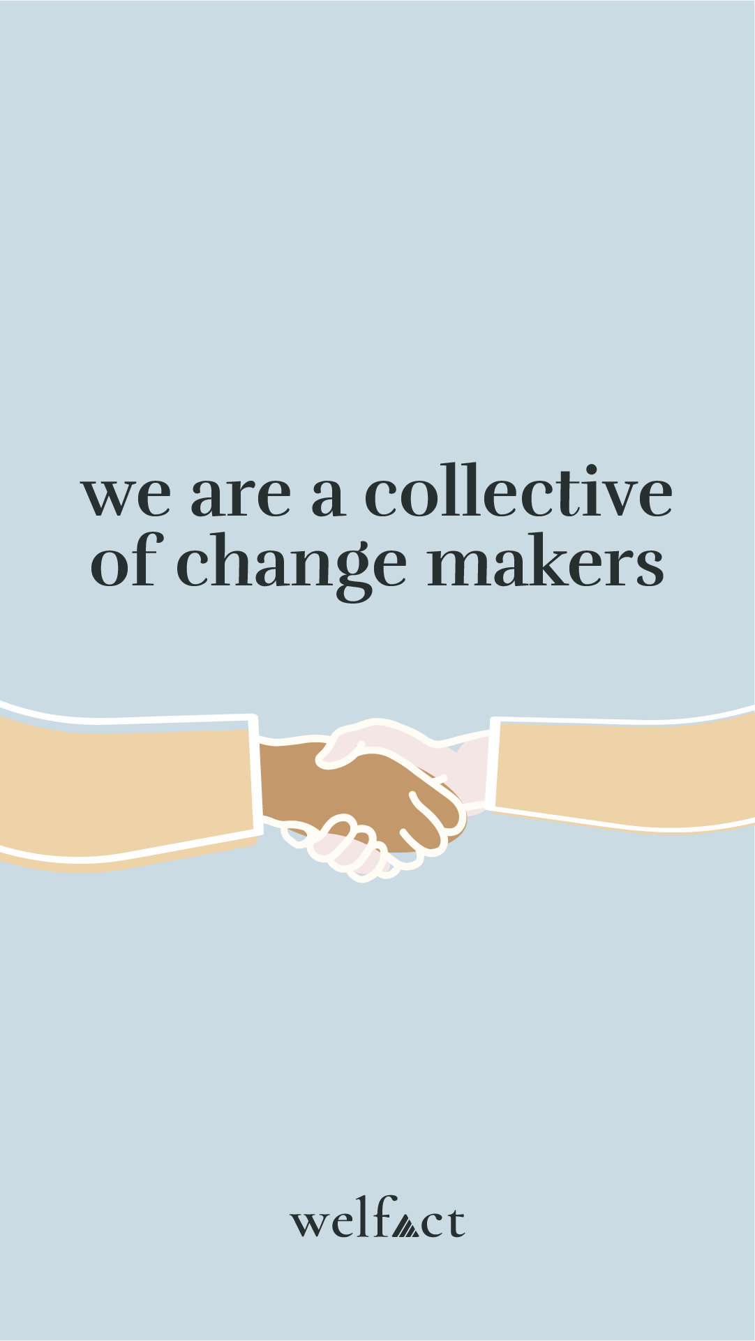 Welfact Assets - Change Makers, Blue
