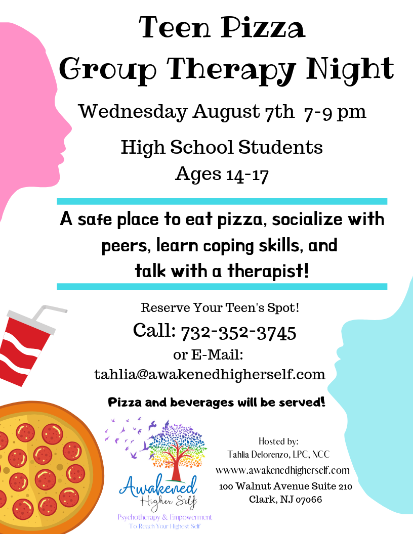 Flyer Teen Pizza Group Therapy Night.png