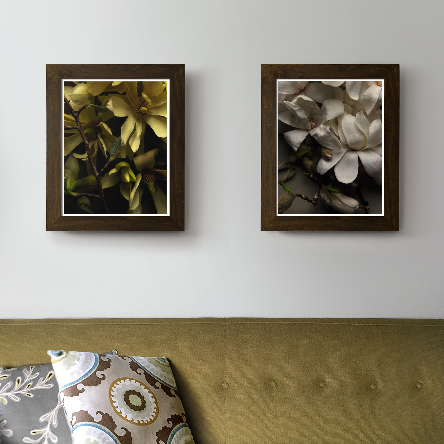 Magnolias in the Living Room