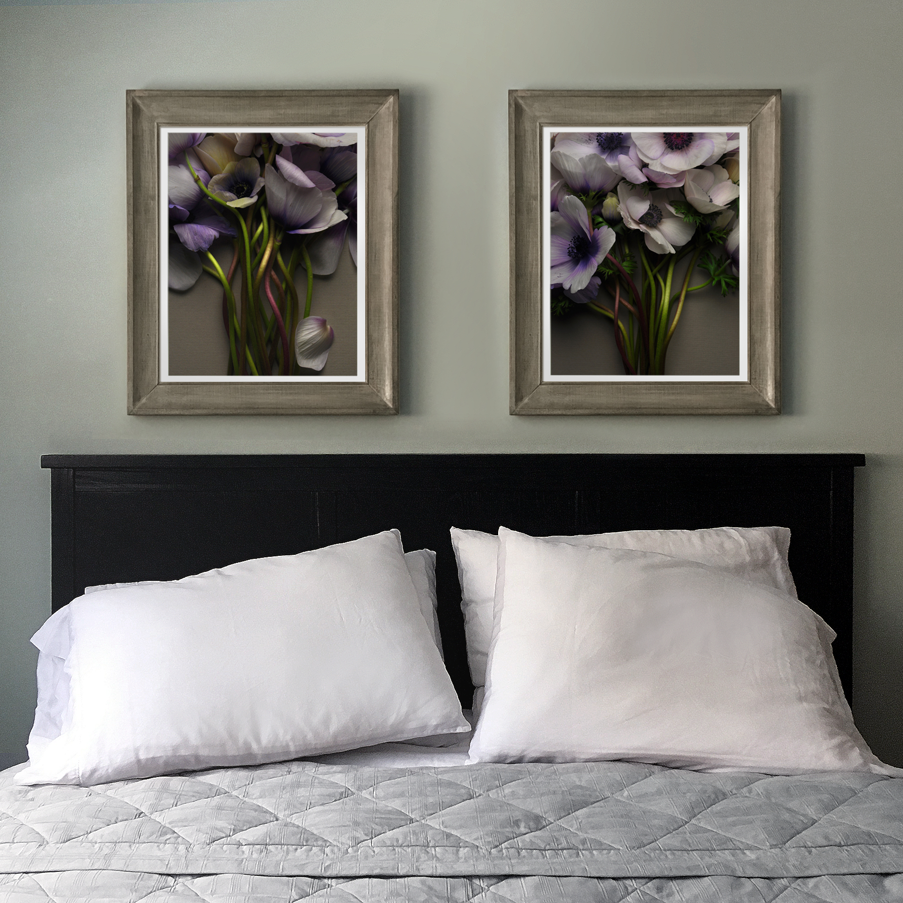 Anemones Over the Bed