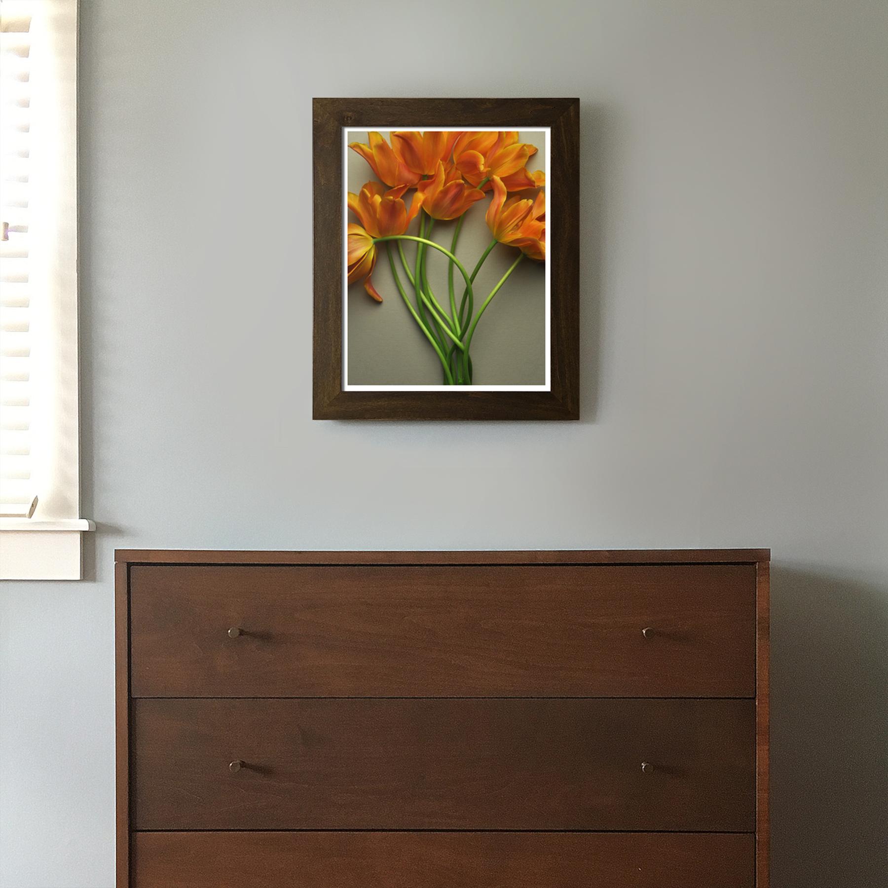 Tulips Over the Dresser