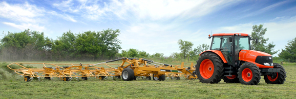 Hay Tedders - Vermeer specially designed hay tedders to turn cut hay so that it dries more evenly. Vermeer offers more options, so you can find the hay tedder that fits your operation.