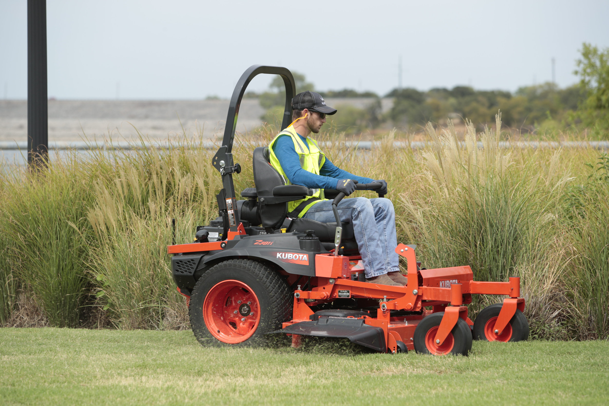 """Mowers - With mower decks ranging from 42"""" to 60"""" and engines reaching 21.1 HP to 29.5 HP, the Z Series can handle any terrain while giving you all the advantages of a zero-turn mower"""