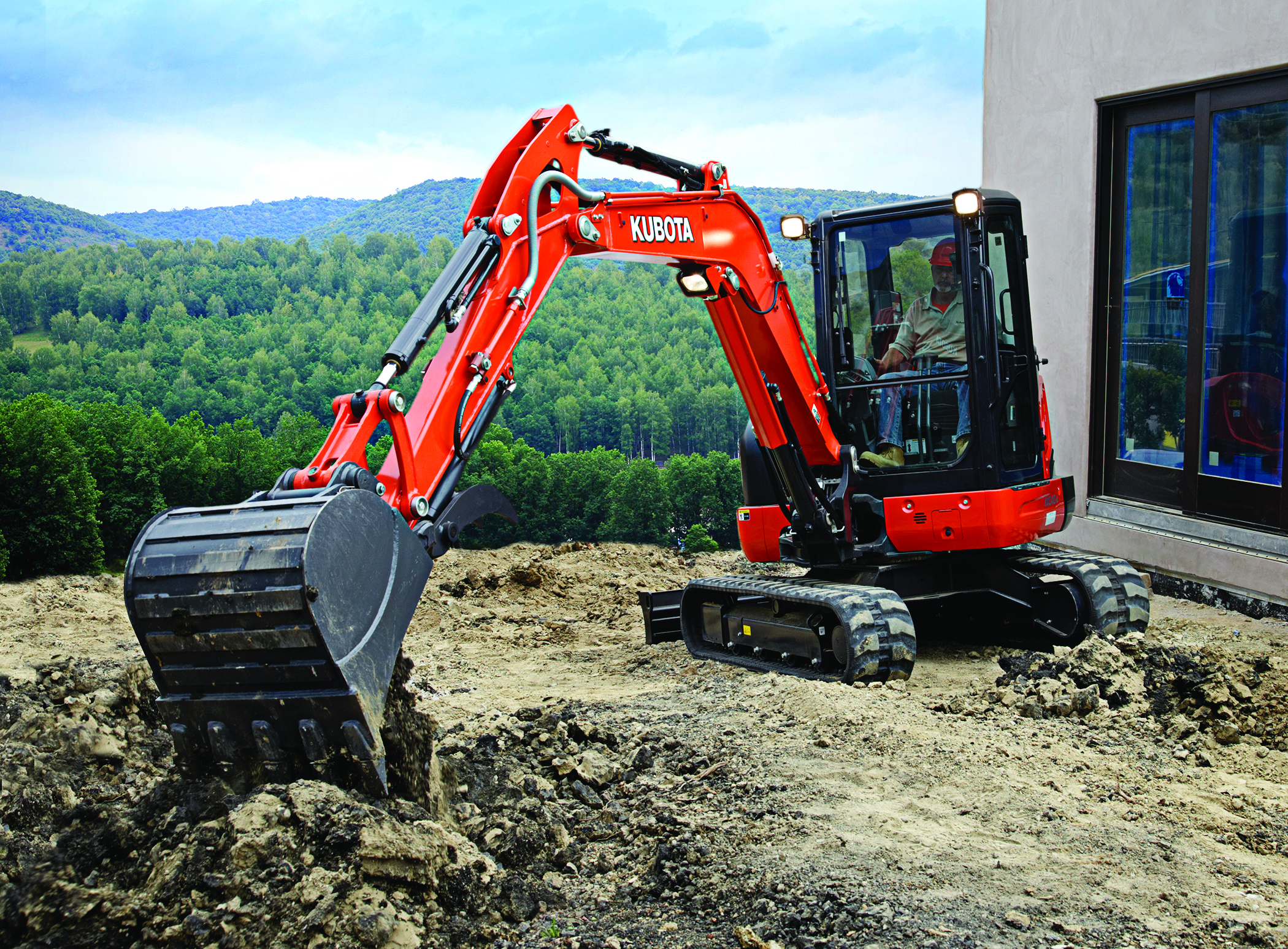 Construction - Kubota is proud to be the world's #1 selling compact excavator* (zero and conventional tail swing). With outstanding utility and exceptional, efficient operation, Kubota can help you tackle tougher jobs in even tighter spaces