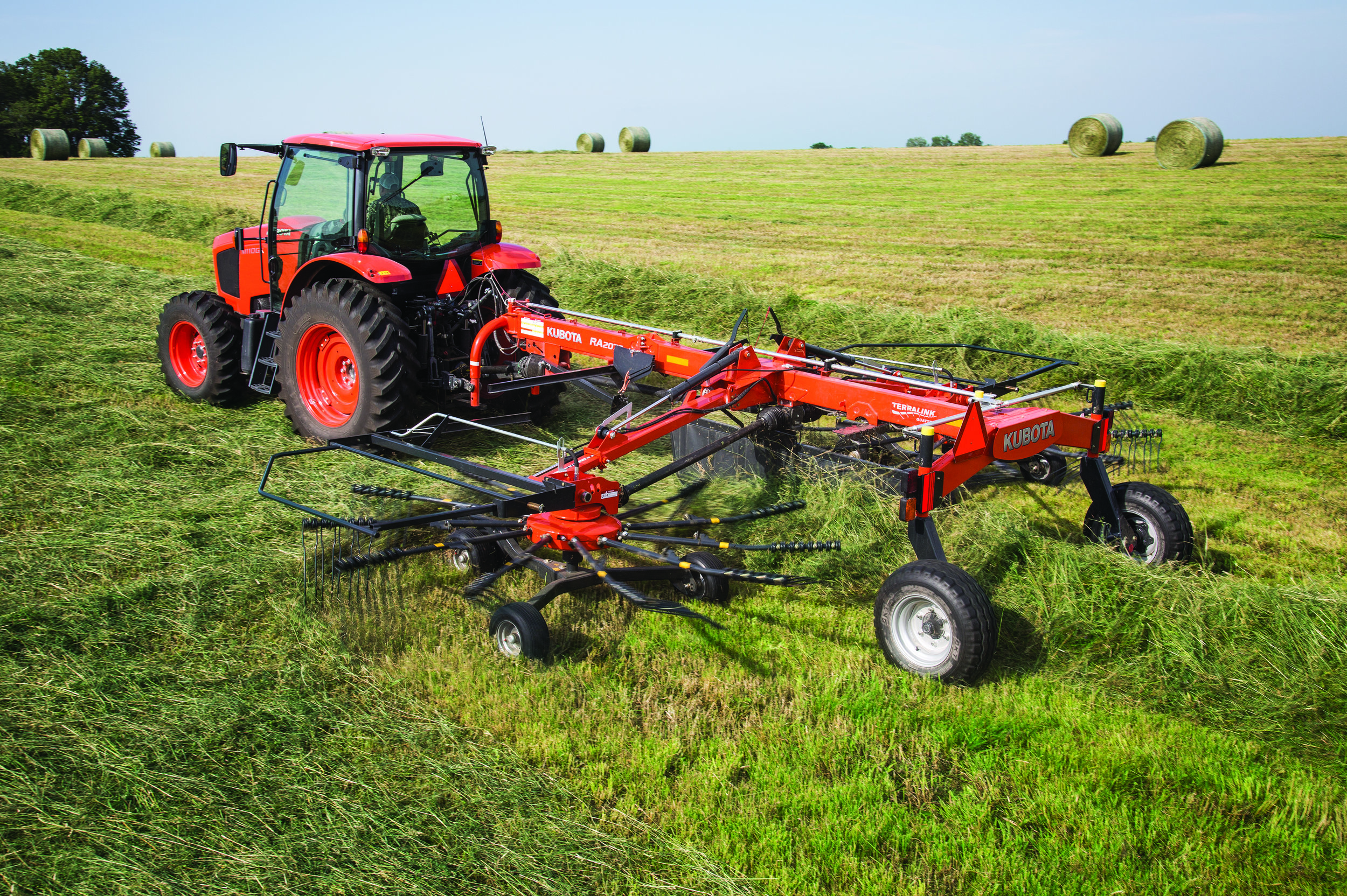 Hay & Farm Equipment - From disk mowers to bale wrappers, our farm implements are made to meet farmer's demands.
