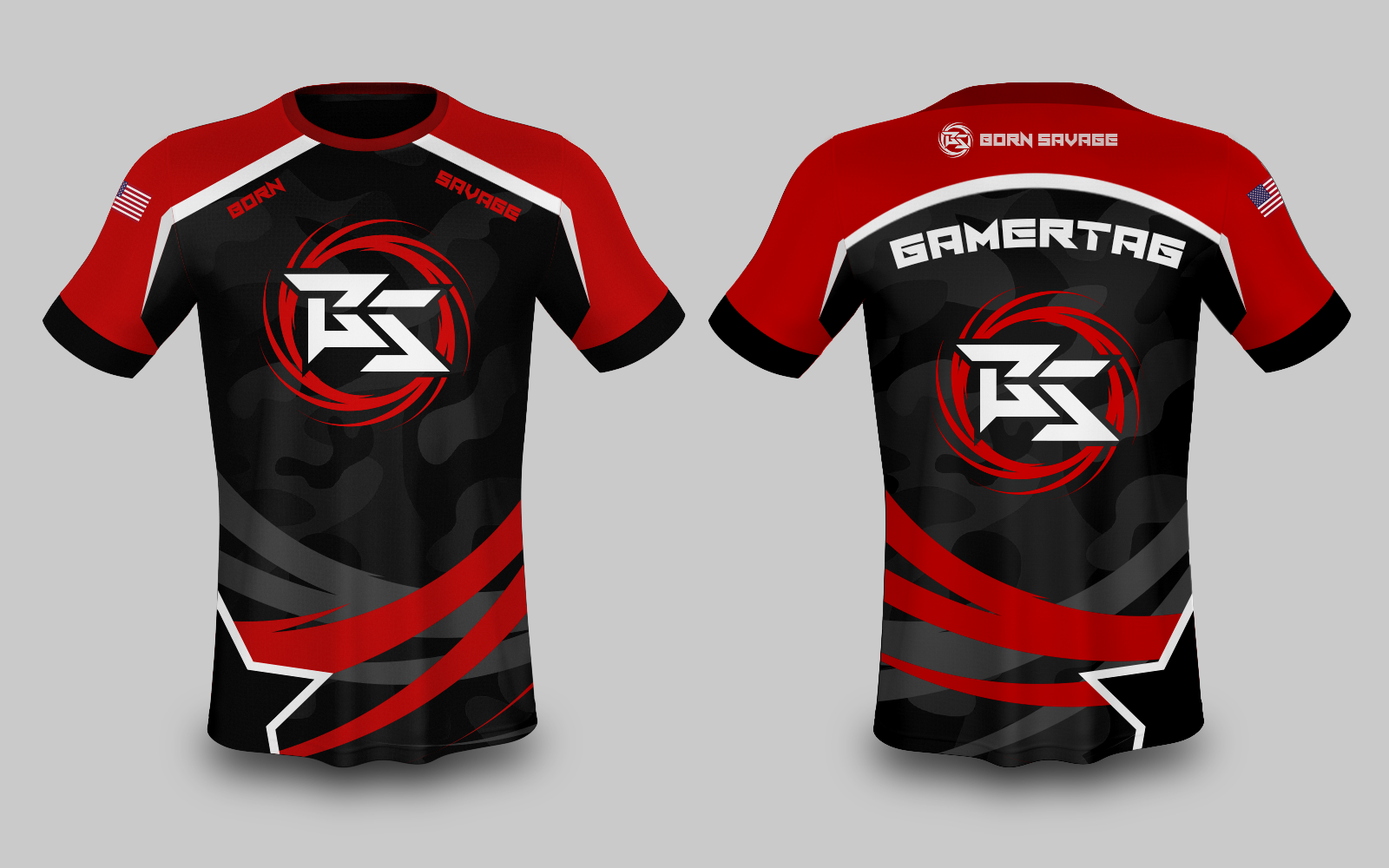 Concept Born Savage Jersey to be used for LAN.