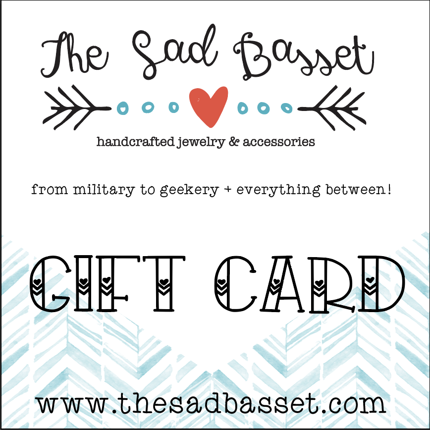Gift cards! Available in $25-$100!