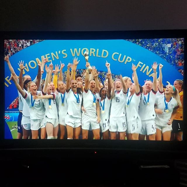 What a match!! Congratulations to the #USWNT on their fourth World Cup victory!! 🇺🇸
