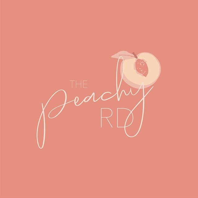 "Today is the day we launch @thepeachyrd's new brand identity! • I originally branded for Alex when she created her lifestyle and wellness blog under the name Living Life Peachy. As she moves on to her career as a Registered Dietician, we decided it would be beneficial to rebrand. We wanted to create something that still showcases Alex's playful personality, and maintains her nickname ""Peach"", while demonstrating a slightly more sophisticated brand identity. Scroll through to see what we came up with and let us know what you think! And check out some of our old posts to see the rebrand."