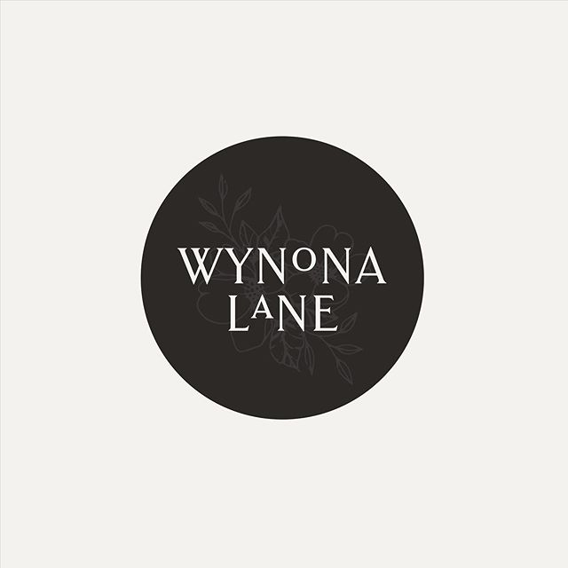Bringing back this project with a secondary logo for Wynona Lane 〰️