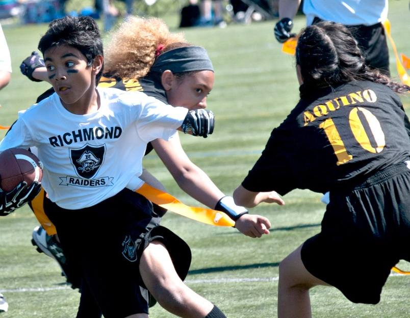 Flag football's popularity continues to soar - MAY 23, 2018RICHMOND NEWSARTICLE BY MARK BOOTH