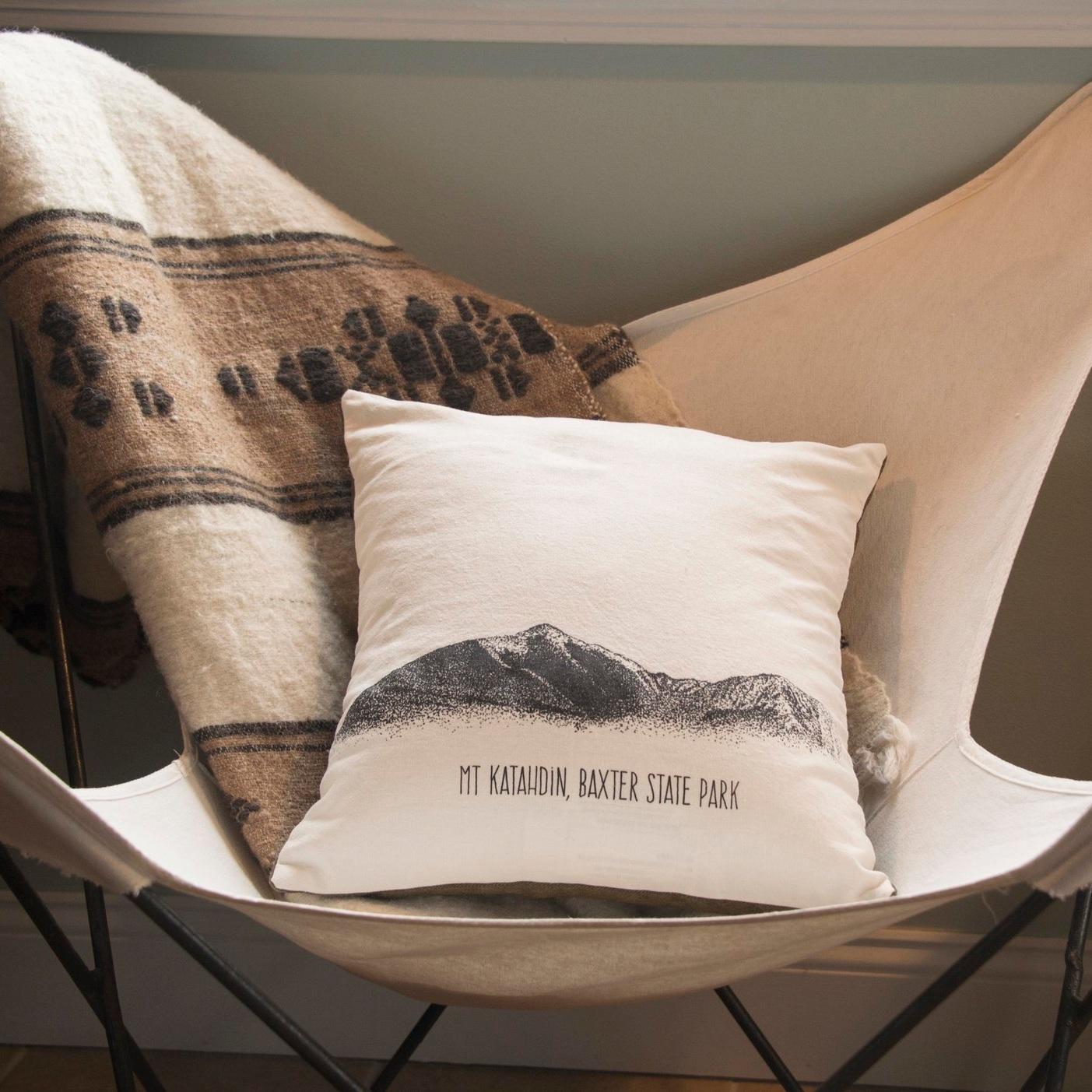 Hemp Throw Pillow -