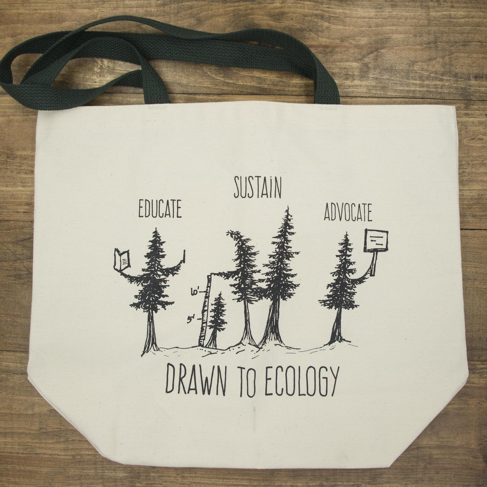 Educate Sustain Advocate Canvas Bag -