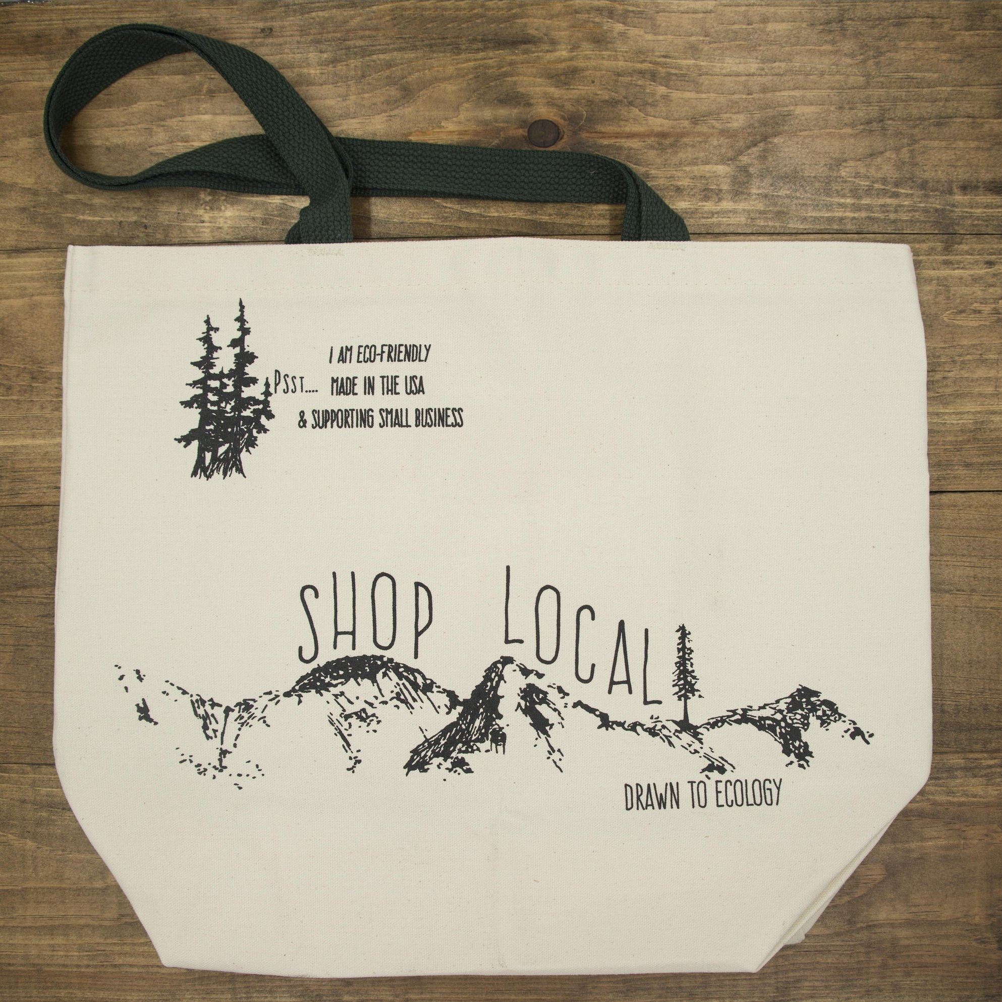 Shop Local Canvas Bag -
