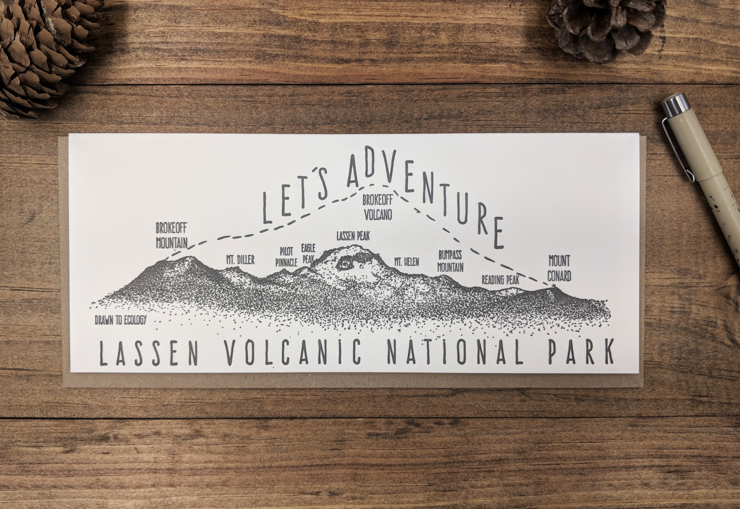 CUSTOM PIECES - Capture all of those moments of living in and loving the great outdoors through hand-drawn illustrations made just for you.